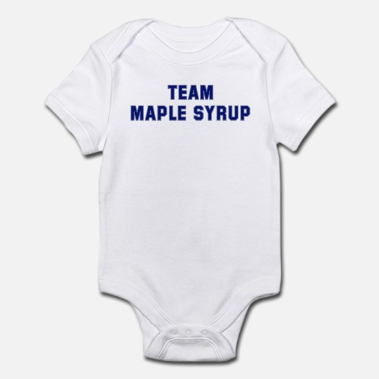 Team MAPLE SYRUP Infant Bodysuit
