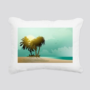 FLA3 Rectangular Canvas Pillow