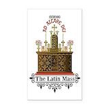 "Latin mass 3"" x 5"""