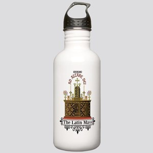 As Altare Dei Latin Ma Stainless Water Bottle 1.0L