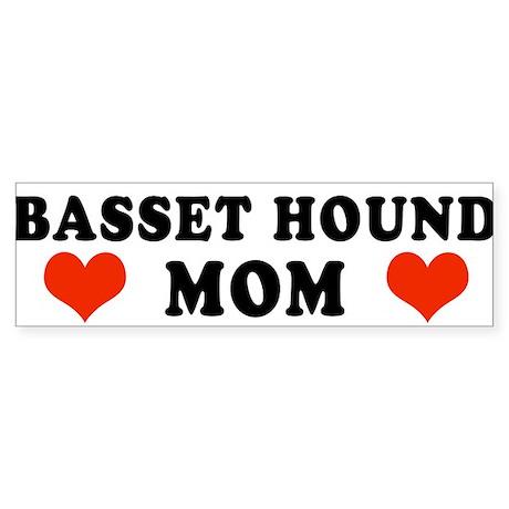 Basset_Mom.jpg Sticker (Bumper 10 pk)