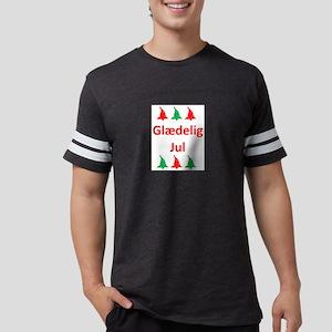 glaedelig jul Mens Football Shirt