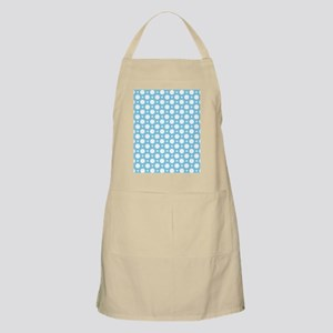 Cafe Blue Assorted Polka Dots Apron