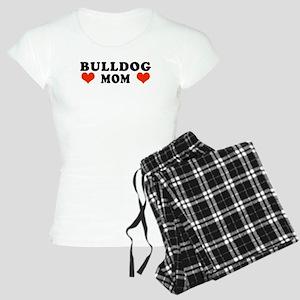 Bulldog_Mom Women's Light Pajamas