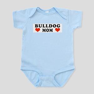 Bulldog_Mom Infant Bodysuit