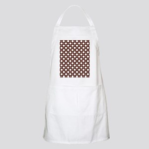 Cafe Brown Assorted Polka Dots Apron