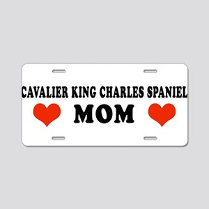 Charles_King_Mom Aluminum License Plate