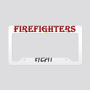 Take the Heat License Plate Holder