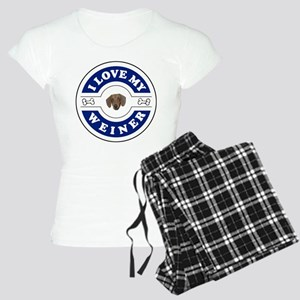 I_love_weiner_trial.jpg Women's Light Pajamas