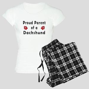 Proud_Parent_Dachshund.jpg Women's Light Pajamas