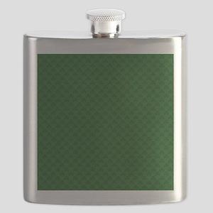 Shamrocks Shower Curtain - LOW DPI Flask