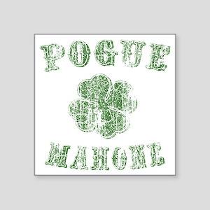 "pogue-mahone-vint-LTT Square Sticker 3"" x 3"""