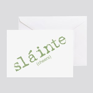 Slainte greeting cards cafepress slainte irish for cheers greeting cards package o m4hsunfo