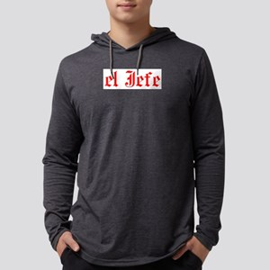 el jefe Mens Hooded Shirt