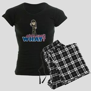 Army Girl Women's Dark Pajamas