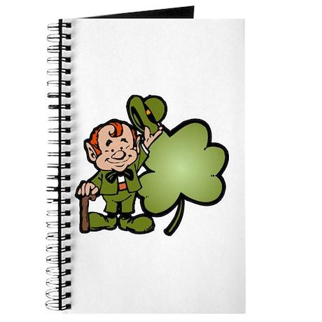 Leprechaun and Shamrock Journal