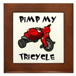 Pimp My Tricycle Framed Tile
