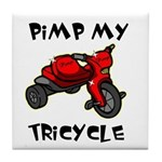 Pimp My Tricycle Tile Coaster