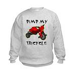 Pimp My Tricycle Kids Sweatshirt