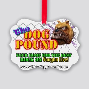 Dog Pound Shirt Picture Ornament