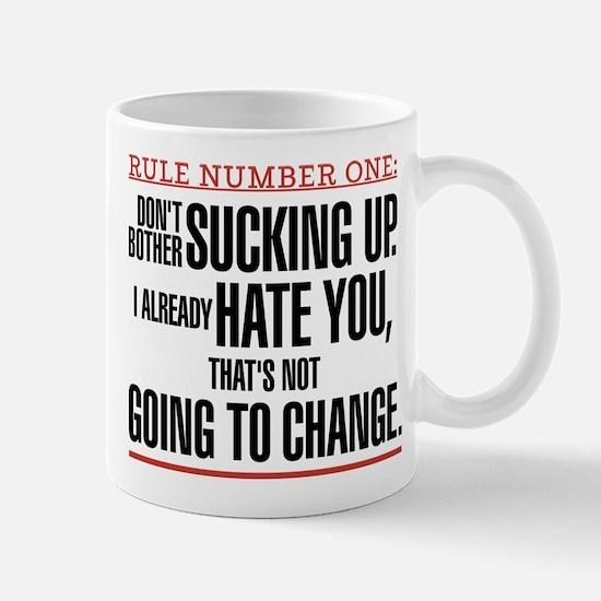 Grey's Anatomy Rule Number One Mug