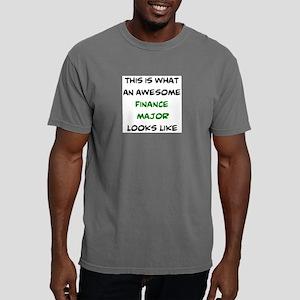 awesome finance major Mens Comfort Colors Shirt