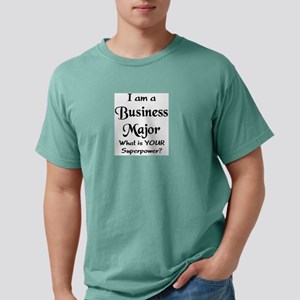 business major Mens Comfort Colors Shirt
