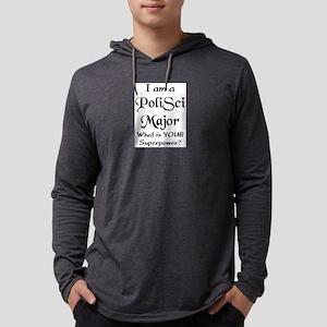 polisci major Mens Hooded Shirt