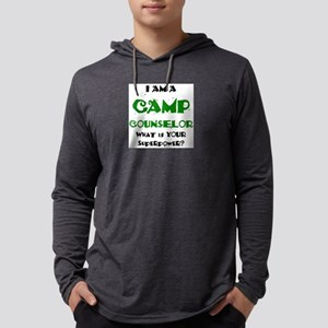 camp counselor Mens Hooded Shirt