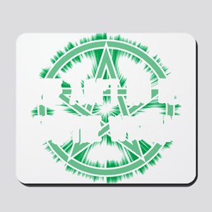 No Rest for the Wiccan (Dark) Mousepad