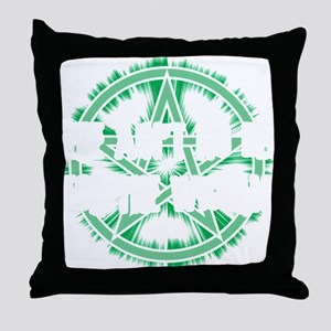 No Rest for the Wiccan (Dark) Throw Pillow