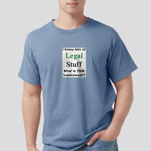 legal stuff Mens Comfort Colors Shirt