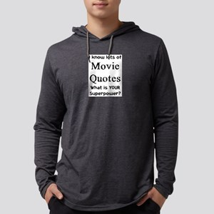 movie quotes Mens Hooded Shirt