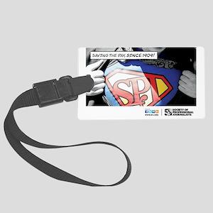 SPJ Superman Large Luggage Tag
