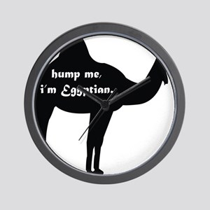 Hump Me, I'm Egyptian Wall Clock