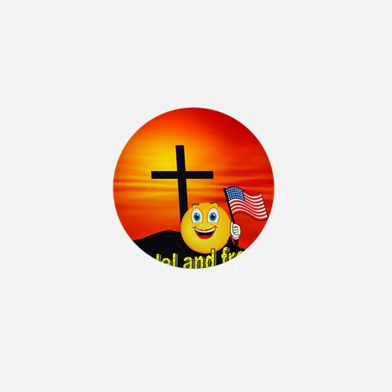 Proud Christian  Mini Button