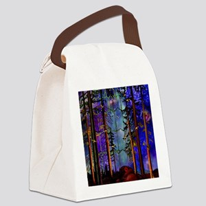 Emergence P Canvas Lunch Bag