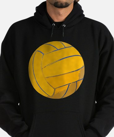 Waterpolo Ball US Olympics Swimming  Hoodie (dark)