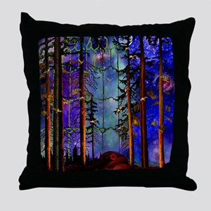 Emergence P Throw Pillow