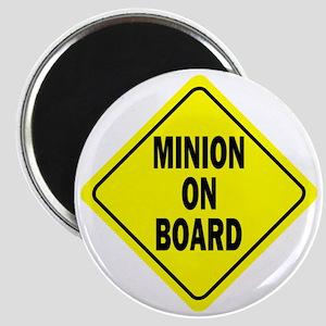 Minion on Board Car Sign Magnet
