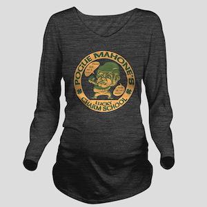 pog-mo-boxer-T Long Sleeve Maternity T-Shirt