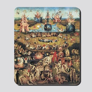 Garden of Earthly Delights Mousepad