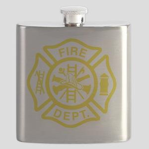 Off Duty Firefighter Flask