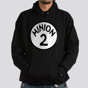 Minion 2 Two Children Hoodie (dark)