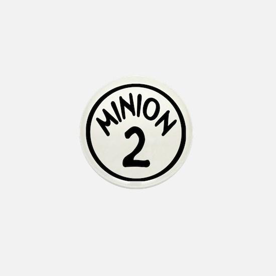 Minion 2 Two Children Mini Button