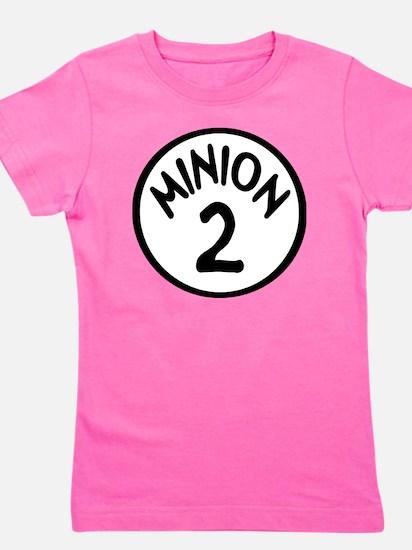 Minion 2 Two Children Girl's Tee