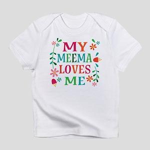 Meema Loves Me Girls Gift T-Shirt