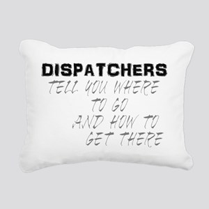 dispatchback Rectangular Canvas Pillow