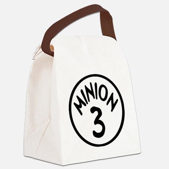 Minion 3 Three Children Canvas Lunch Bag