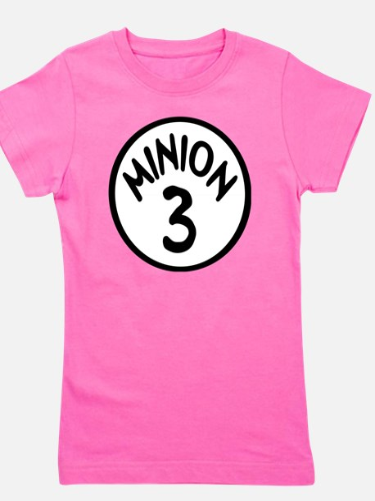 Minion 3 Three Children Girl's Tee